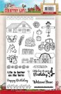 Yvonne Creations Clear Stamp Set - Country Life