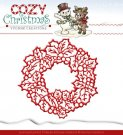 Yvonne Creations Dies - Cozy Christmas Wreath