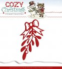 Yvonne Creations Dies - Cozy Christmas Mistletoe