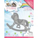 Yvonne Creations Dies - Tots and Toddlers Rocking Horse