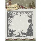 Yvonne Creations Dies - Celebrating Christmas Scene Square Frame