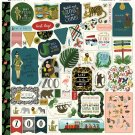 "Echo Park 12""x12"" Element Sticker Sheet - Animal Safari"