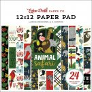 "Echo Park 12""x12"" Paper Pad - Animal Safari (24 sheets)"