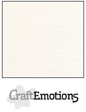 CraftEmotions Linen Cardstock - Champagne (100 sheets)