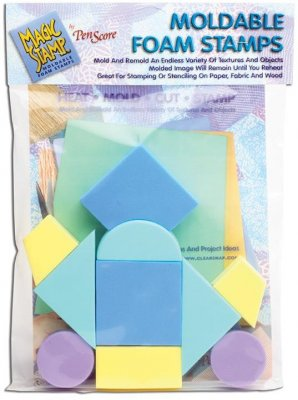 Clearsnap Magic Stamp Moldable Foam Stamps - Geometric (10 pack)
