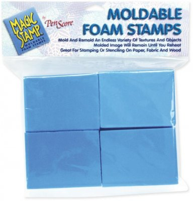 Clearsnap Magic Stamp Moldable Foam Stamps - Blocks (8 pack)