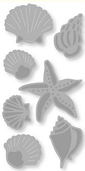 Craftemotions Dies - Shells And Starfish