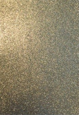 EVA Foam Sheet - Gold Glitter