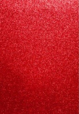 EVA Foam Sheet (mossgummi) - Red Glitter