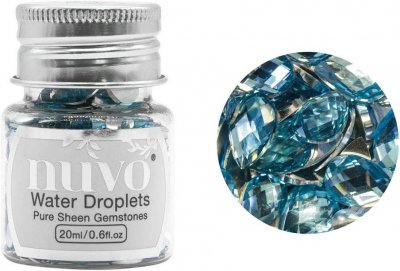 Nuvo Pure Sheen Gemstones - Water Droplets (20ml)