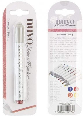 Nuvo Glitter Markers - Pressed Peony