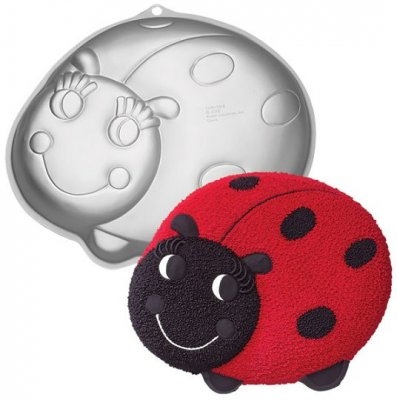 Wilton - Lady Bug Pan