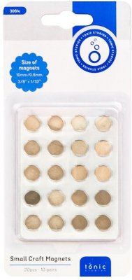 Tonic Studios Craft Magnets - 10mm (10 pack)