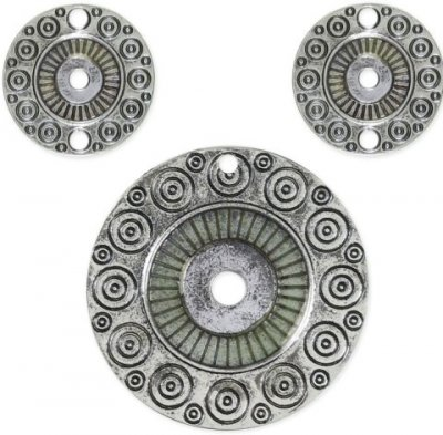 Cousin Kaleidoscope Round Accent Set (3 charms)