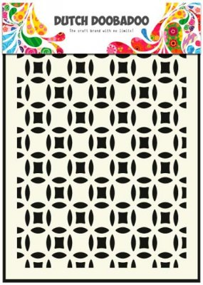 Dutch Doobadoo A5 Mask Art Stencil - Small Circles