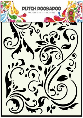 Dutch Doobadoo A5 Mask Art Stencil - Swirls