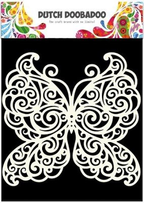 Dutch Doobadoo A5 Mask Art Stencil - Butterfly
