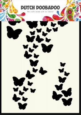 Dutch Doobadoo A6 Mask Art Stencil - Butterfly