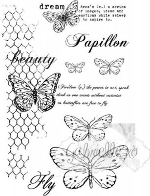 49 & Market Clear Stamps - Gabis Butterflies Are Free