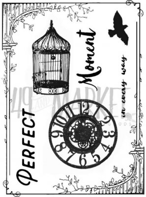 49 & Market Clear Stamps - Scents Of Nature