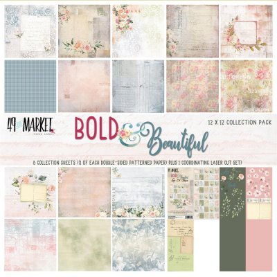 "49 And Market 12""x12"" Collection Pack - Bold & Beautiful (9 sheets)"