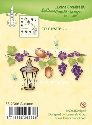 Leane Creatief Clear Stamp - Autumn
