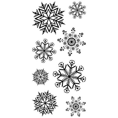 INKADINKADO - FUN FLAKES CLEAR STAMP SET
