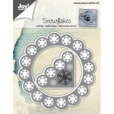 Joy Crafts Dies - Snowflakes Corner & Background