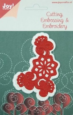 Joy Crafts Cutting, Embossing and Embroidery Die - No. 1