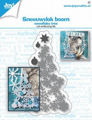 Joy Crafts Cutting & Embossing Die - Snowflake Tree