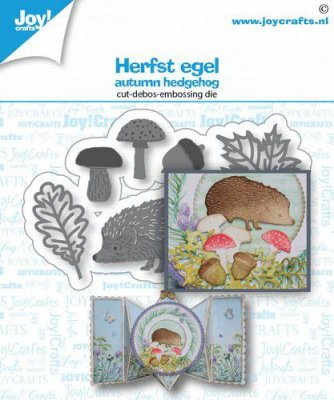 Joy Crafts Cut & Deboss Dies - Autumn Hedgehog