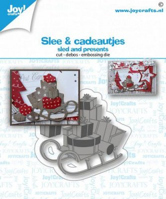 Joy Crafts Cut Emboss & Deboss Dies - Sled & Presents