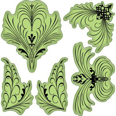 "Inkadinkado Stamping Gear 4/""x4/""-meadow Flowers"
