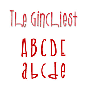 Sizzix Sizzlits Alphabet Set 9 Dies - The Ginchiest