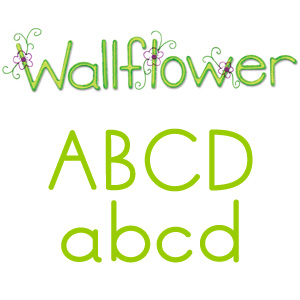 Sizzix Sizzlits Alphabet Set 9 Dies - Wallflower