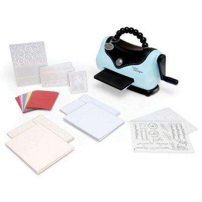 Sizzix - Texture Boutique Embossing Machine Beginners Kit