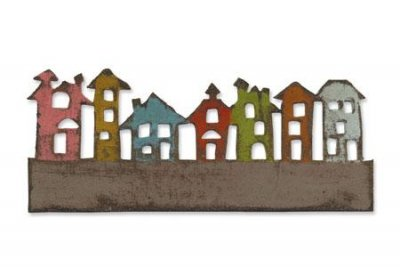Sizzix On the Edge Die - Townscape by Tim Holtz