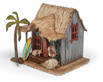 Sizzix Bigz Die - Village Surf Shack by Tim Holtz