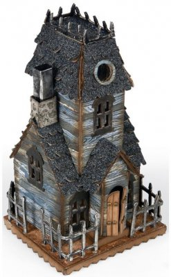 Sizzix Bigz L Die - Village Manor by Tim Holtz