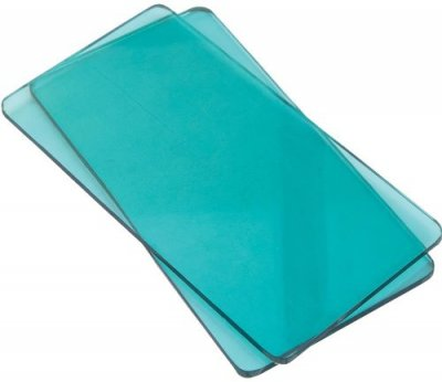 Sizzix Sidekick Cutting Pads - Aqua (1 Pair)