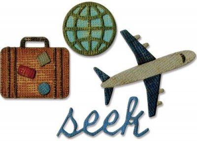 Sizzix Sidekick Side-Order Set - Travel by Tim Holtz