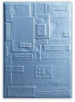 Sizzix 3-D Embossing Folder - Rivets by Tim Holtz