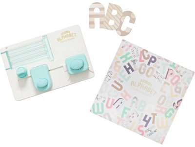We R Memory Keepers - Mini Alphabet Punch Board