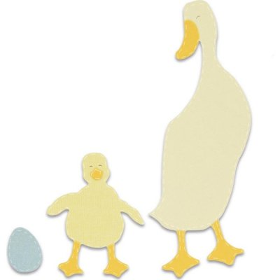 Sizzix Bigz Dies - Duck and Duckling
