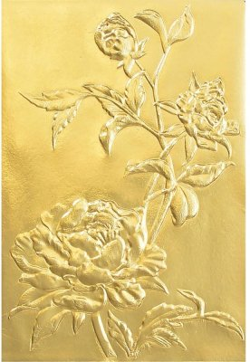 Sizzix 3-D Texture Fades Embossing Folder - Roses by Tim Holtz