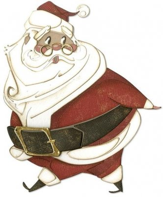 Sizzix Thinlits Die Set - Jolly St. Nick by Tim Holtz (14 dies)