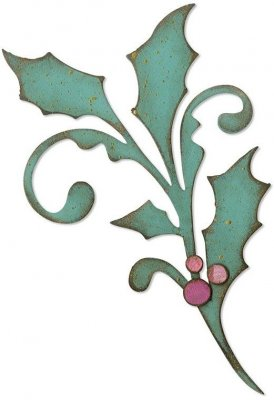 Sizzix Bigz Die - Seasonal Scroll by Tim Holtz