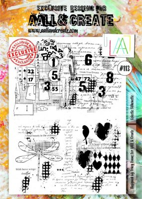 AALL & Create A4 Stamps - #113