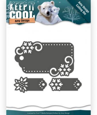 Amy Design Dies - Keep it Cool Tags