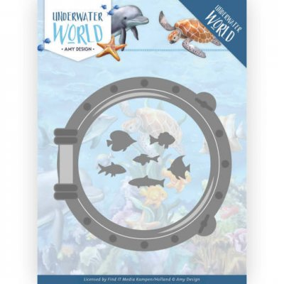 Amy Design Dies - Underwater World Porthole
